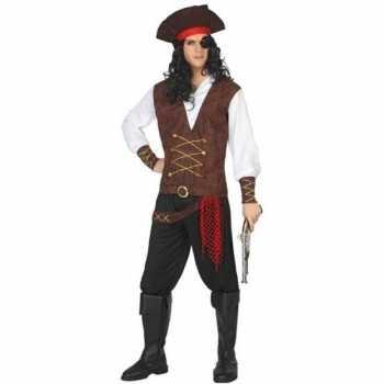 Foute piraat lewis pak/party kleding voor volwassenen