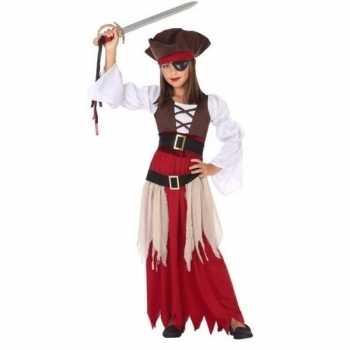 Foute piraten party kleding/jurk voor meisjes