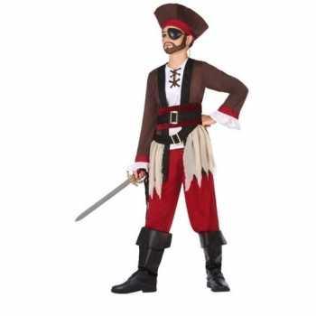 Foute piraten party kleding voor jongens