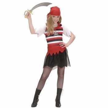 Foute piraten party kleding voor meisjes
