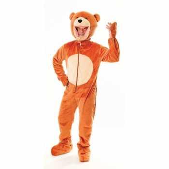 Foute pluche beren party kleding
