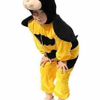 Foute pluche bijen party kleding kinderen