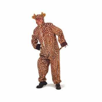 Foute pluche giraffe party kleding