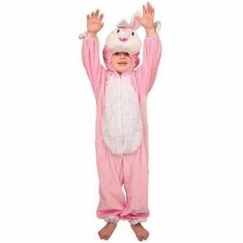 Foute pluche konijn party kleding kinderen