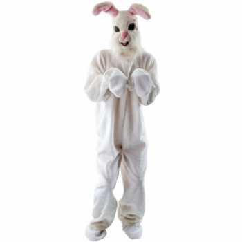Foute pluche konijn party kleding voor volwassenen