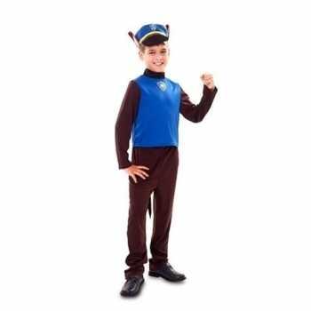 Foute politie hond party kleding voor jongens
