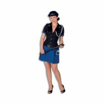 Foute politie party kleding polyester voor dames