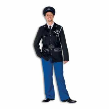 Foute politie party kleding polyester voor heren