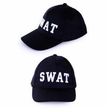 Foute politie swat baseball cap party kleding voor volwassenen
