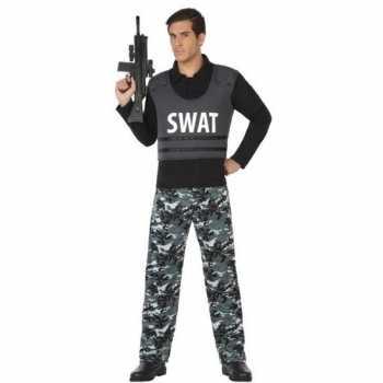 Foute politie swat pak/party kleding voor volwassenen