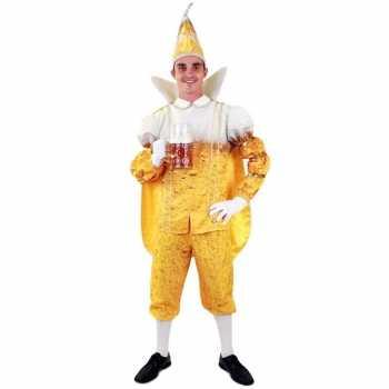 Foute prins carnaval pils/bier party kleding voor heren