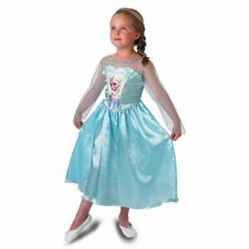 Foute prinsessen feest party kleding elsa voor meisjes