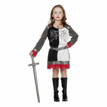 Foute riddertijd party kleding voor meiden