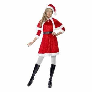 Foute rode kerstjurkjes met cape party