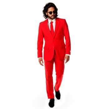 Foute rode party kleding voor heren