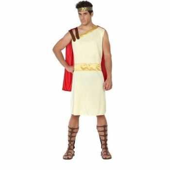 Foute romeinse/griekse heer agis party kleding voor heren
