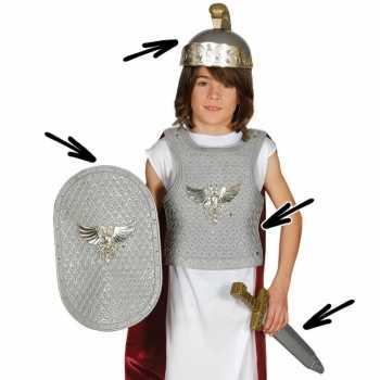 Foute romeinse ridder party kleding voor kinderen