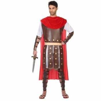 Foute romeinse soldaat/gladiator marcus party kleding voor heren