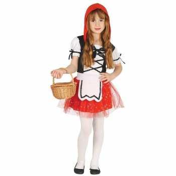 Foute roodkapje party kleding/jurkje voor meisjes