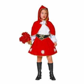 Foute roodkapje party kleding voor kinderen