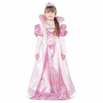 Foute roze koningin party kleding voor meisjes