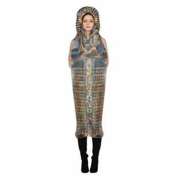 Foute sarcofaag toetanchamon party kleding voor volwassenen