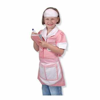 Foute serveerster party kleding voor meisjes