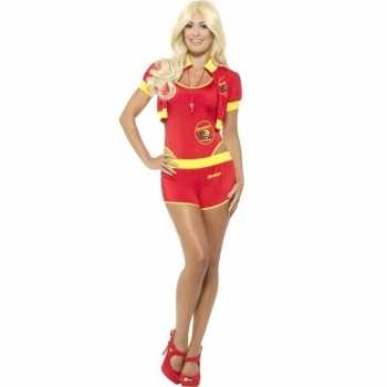 Foute sexy baywatch party kleding voor dames