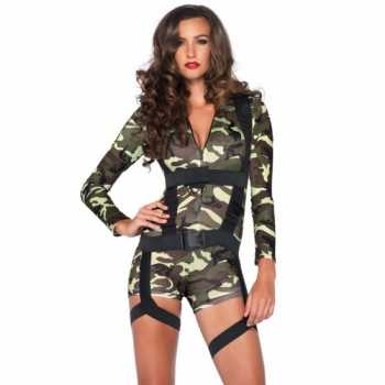 Foute sexy commando party kleding voor dames