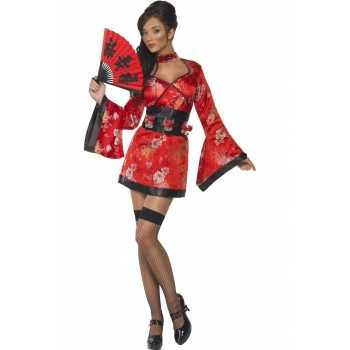 Foute sexy japans party kleding voor dames