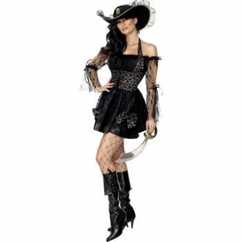 Foute sexy piraten party kleding dames