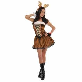 Foute sexy rendier party kleding voor dames