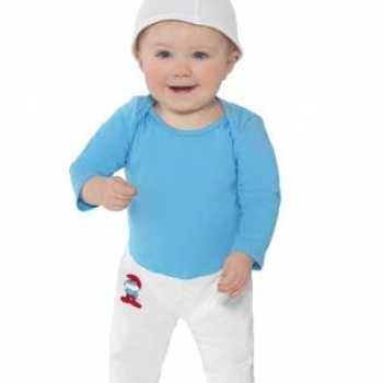 Foute smurfen party kleding voor baby's