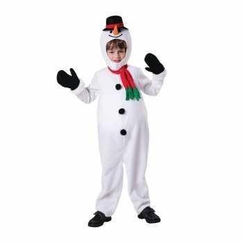 Foute sneeuwpop party kleding voor kinderen