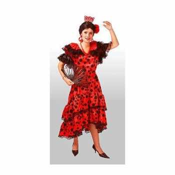 Foute spaans carnavals jurk voor dames party