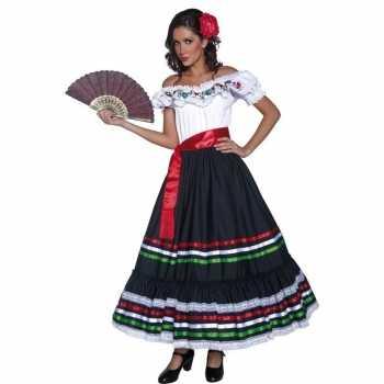 Foute spaanse danseres party kleding voor dames