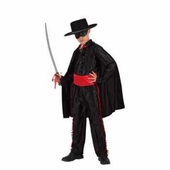Foute spaanse gemaskerde held party kleding voor jongens