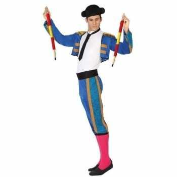 Foute spaanse matador/stierenvechter party kleding voor heren