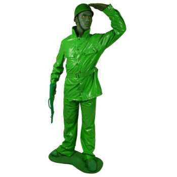 Foute speelgoed soldaten party kleding 7 delig