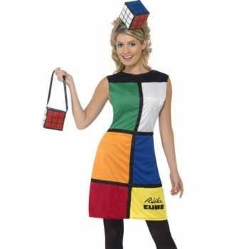 Foute spelletje rubiks kubus party kleding