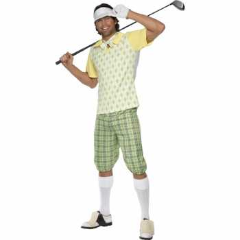 Foute sport party kleding golf