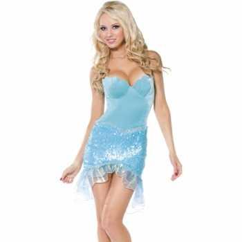 Foute sprookjesparty kleding zeemeermin