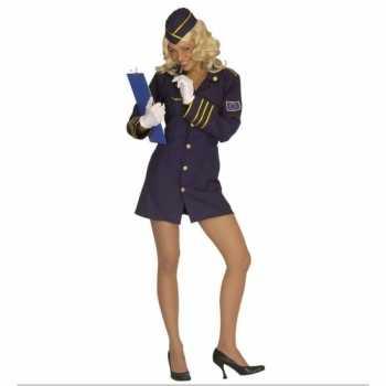 Foute stewardess pakje carnaval dames party