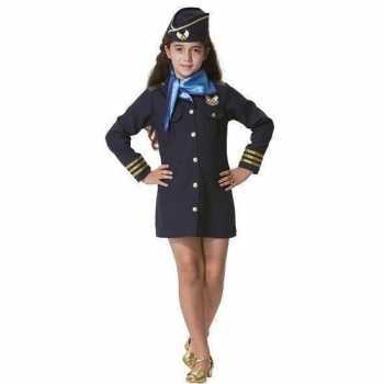 Foute stewardess party kleding voor meisjes