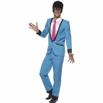 Foute teddy boy party kleding voor heren