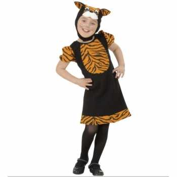 Foute tijgertje party kleding voor meisjes