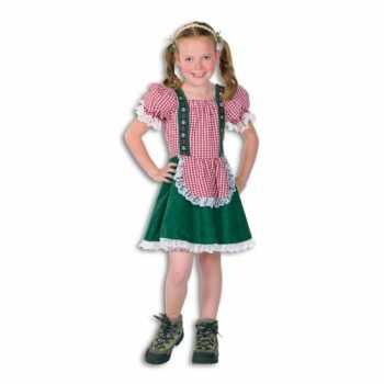Foute tiroler party kleding voor meisjes