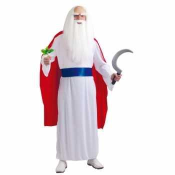 Foute tovenaars jurk met cape voor heren party
