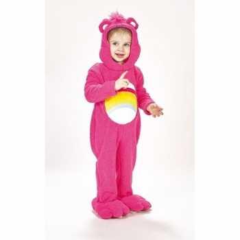 Foute troetelberen party kleding roze voor meisjes