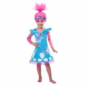 Foute trolls poppy party kleding voor meiden
